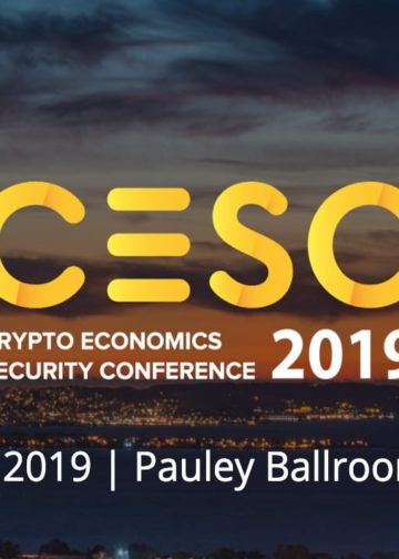 CryptoEconomics Security Conference Around the Corner in Berkley, USA